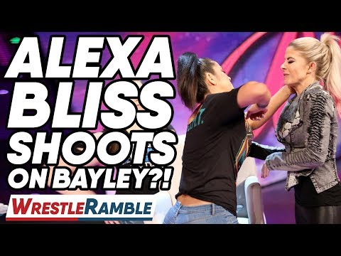 Alexa Bliss SHOOTS On Bayley?! WWE SmackDown, June 18, 2019 Review | WrestleTalk's WrestleRamble