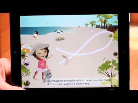 L'Australie de Lulu, livre numérique jeunesse Zanzibook ★★★★★