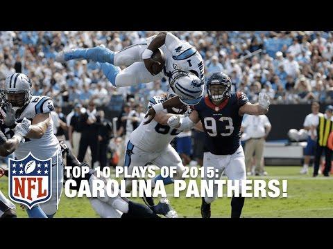 Video: Top 10 Carolina Panthers Plays of 2015 | NFL