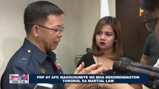 PNP at AFP, magsusumite ng mga rekomendasyon tungkol sa Martial Law For more news, visit: ▻http://news.ptv.ph Subscribe to...