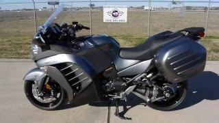 9. $15,499:  2016 Kawasaki Concours 14 ABS Metallic Moondust Gray Review