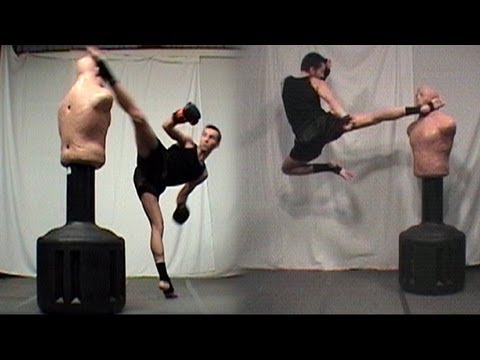 kickboxing - This is a re-upload of an older sampler, now without copyright issues!) This is a sampler featuring techniques from my various martial arts tutorials and tr...