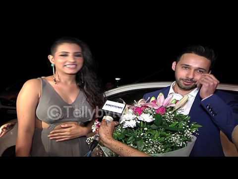Aditi Gupta and Rizwan at Divyanka and Vivek's wed