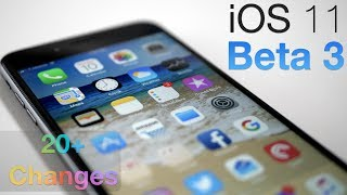 """Apple released iOS 11 Beta 3 to developers today.  I show you what's new with over 20 new features and changes.Support ZOLLOTECH on Amazon:  http://amzn.to/2jxmglNGear I use:  http://kit.com/Zollotech/zollotech-gearWallpaper:  http://imgur.com/hLdzZBMIntro Music:  """"Natoma"""" by Phaura  - https://soundcloud.com/phaura/natoma - Royalty free and used with permission by the Artist PhauraOutro Music:  """"Sunday"""" by Otis McDonald - Available in the YouTube Create Audio LibraryWebsite: http://www.zollotech.comFollow me on Google+ : http://google.com/+zollotechFollow me on Twitter: http://www.twitter.com/zollotechFacebook page: http://www.facebook.com/zollotechInstagram:  https://www.instagram.com/aaronzollo"""