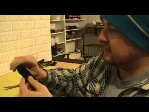 How to put foam grip on a fingerboard quick and easy