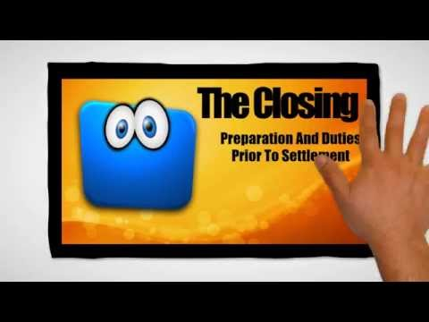 From Offer Acceptance to Close of Escrow