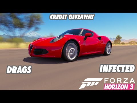 FH3 Open Lobby   Infected, Drags, Goliath, Drift Comp   Credit Giveaway