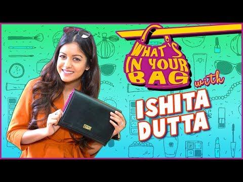 Ishita Dutta's Handbag SECRET REVEALED | What's In