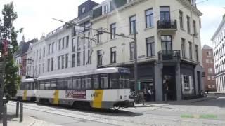 Antwerp Belgium  city photo : Trams in Antwerp, Belgium - Antwerpse premetro