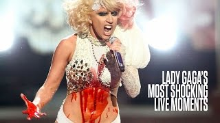 Lady Gaga's Most Shocking Live Moments (NSFW)