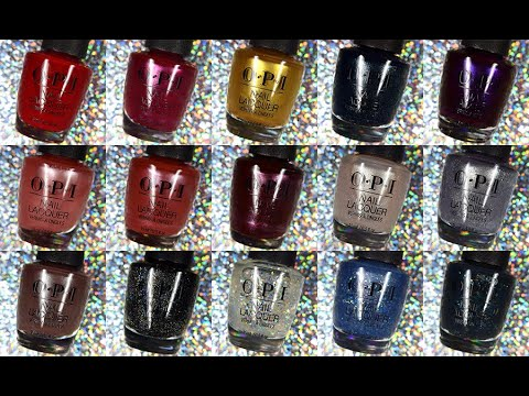 OPI | Shine Bright | Holiday 2020 | Live Swatches