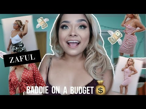 ZAFUL TRY-ON HAUL!!! *BADDIE ON A BUDGET*