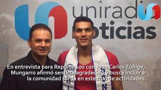 Juan Carlos busca la inclusión para niños y jóvenes sordos