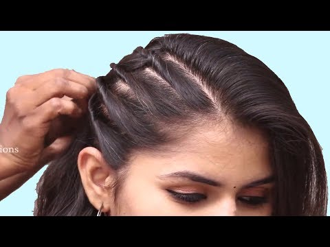 Unseen Party hairstyle 2019 for girls  Hair Style Girl  hairstyles  Easy Hairstyles for long hair