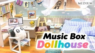 DIY Undertale Toy Dollhouse - Cute Miniature Room With Music Box and Lights!!