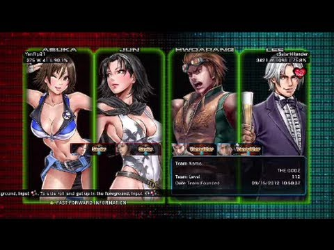 Tekken - 0:00 Yanflip21 ( Jun X Asuka ) VS x5starHilander ( Hwoarang X Lee ) Tekken Tag Tournament 2 Ranked Match On Xbox 360... FOLLOW ME AT... http://www.facebook.c...