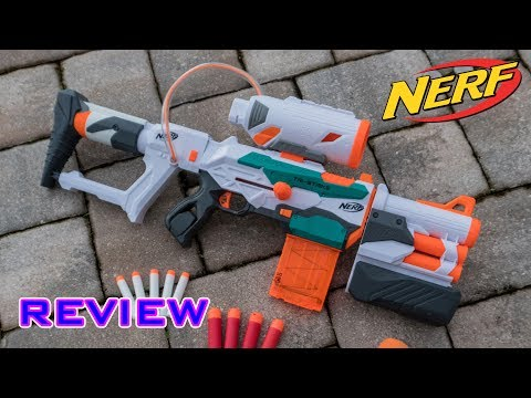 [REVIEW] Nerf Modulus Tri-Strike Unboxing, Review, & Firing Test