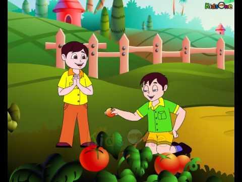 Laal Tamaatar - Animated Nursery Rhymes