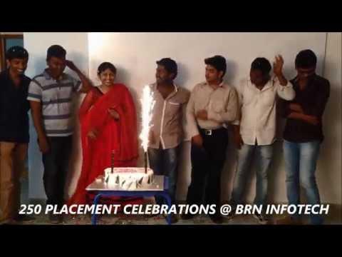 250 PLACEMENTS CELEBRATIONS @ BRN INFOTECH