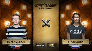 StanCifka vs harleen, game 1