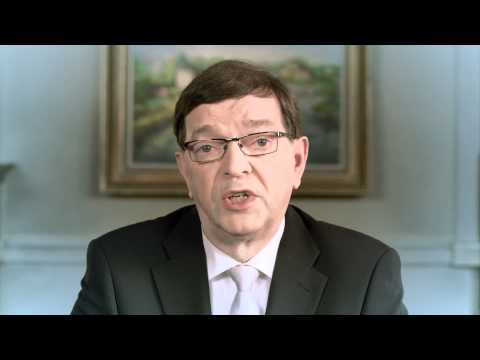 Video of Paavo Väyrynen-Presidenttipeli