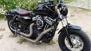 10. 2015 Harley Sportster 48 Mods Walkaround