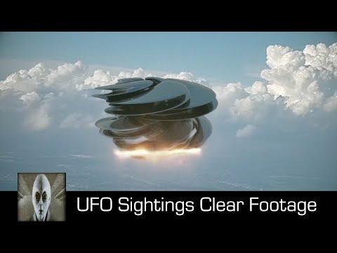 ufo - chiari avvistamenti in filmati datati ottobre 2017