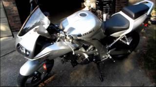 10. 2003 Suzuki SV650S 650CC V-twin 6 Speed Sport Bike Unboxing & First Look Linus Tech Tips
