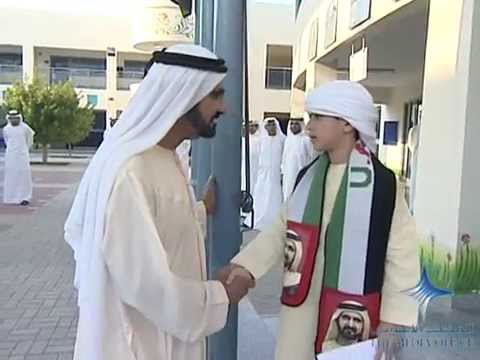 His Highness Sheikh Mohammed visits government schools