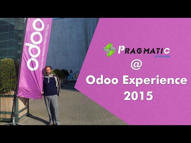 Pragmatic @ Odoo Experience 2015