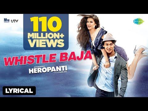 Heropanti - Whistle Baja Video Song With Lyrics | Tiger Shroff, Kriti Sanon