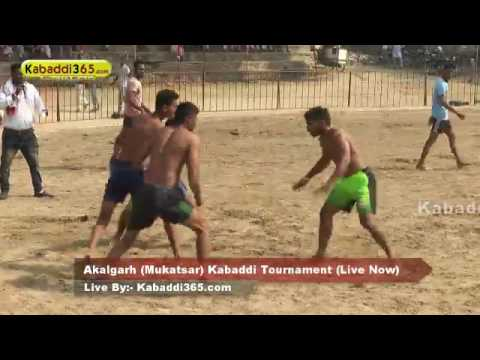Akalgarh (Mukatsar) Kabaddi Tournament 24 Sep 2016