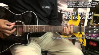 HandClap -Fitz And The Tantrums Chords Guitar Cover  Lesson Link - I Can Make Your Hands Clap Video