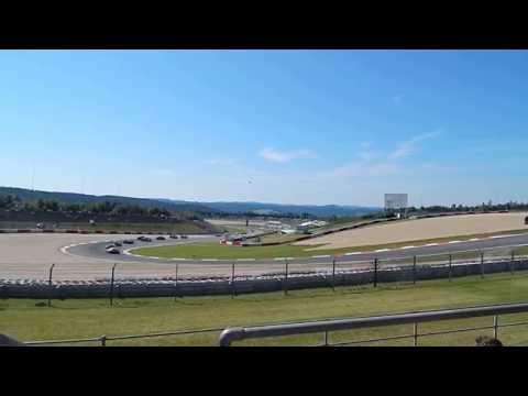 Fia WEC 6hNürburgring 2015 - race start impressions from grandstand during TV-blackout