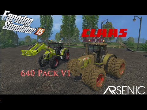 Claas 640 Arion  V1