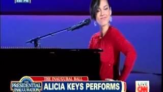 Alicia Keys - Obama's Inaugural Event