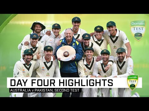 Australia complete clean sweep after Lyon39s five-wicket haul  Second Domain Test