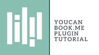 You Can Book Me Plugin Tutorial
