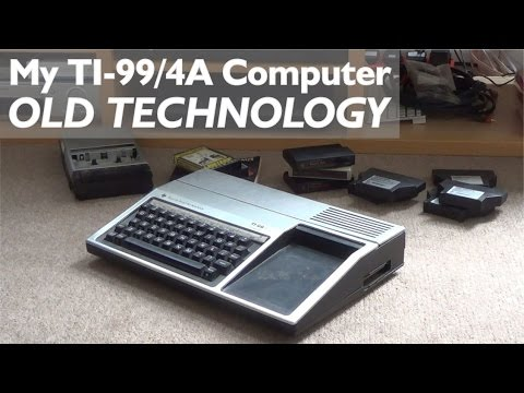 My TI-99/4a Computer