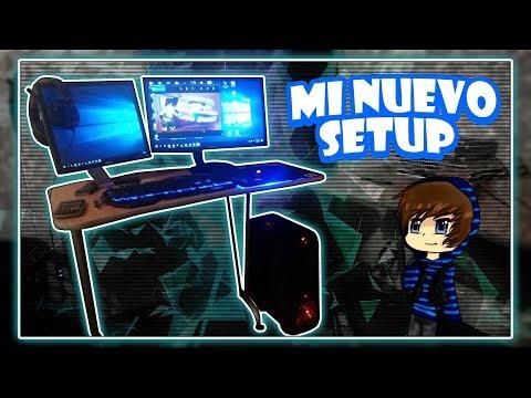 MI NUEVO SET-UP GAMER 2017 | NUEVA PC GAMER