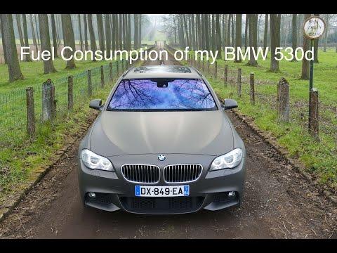 Fuel Consumption Of My BMW 530d !