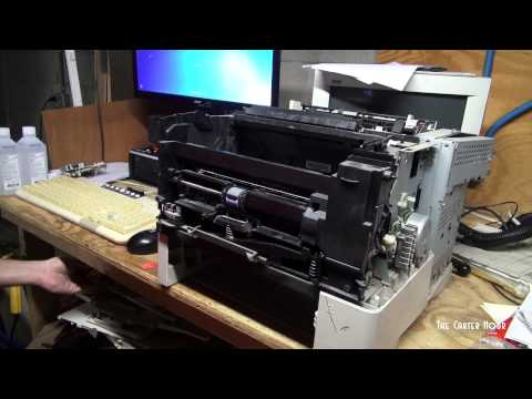 HP LaserJet 4000 Intro and Rebuild Part 2