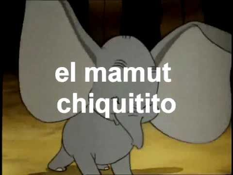 El Mamut Chiquitito (cancion infantil)