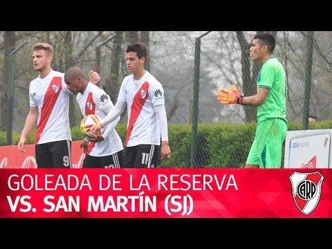 #DivisiónReserva: River vs. San Martín de SJ
