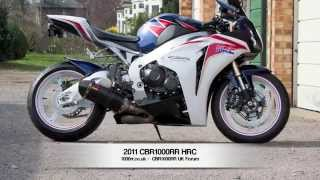 1. 2011 Honda HRC CBR1000RR - Akrapovic - Gilles - 1000rr.co.uk