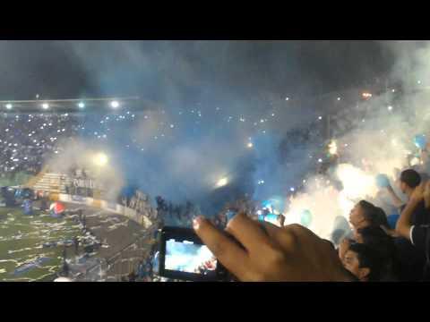 Recibimiento a Motagua, Gran Final Torneo 2014 - Revolucionarios 1928 - Motagua