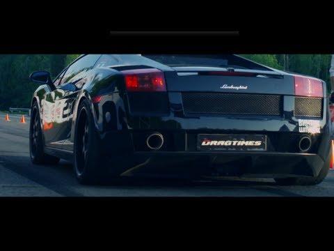 DAMN! Lamborghini Gallardo chega aos 405 Km/h