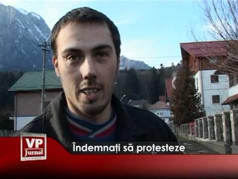 Îndemnaţi să protesteze