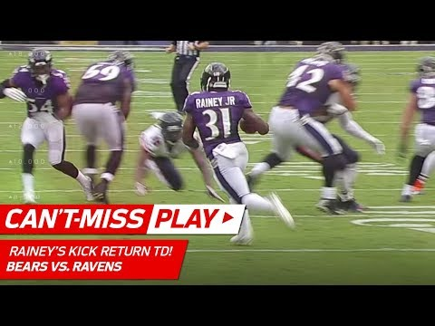Video: Bobby Rainey Tumbles & Gets Up for Amazing Kick Return TD! | Can't-Miss Play | NFL Wk 6 Highlights