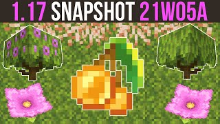Minecraft 1.17 Snapshot 21w05a Lush Caves! Dripleaf, Azalea Bushes, Moss & Spore Blossom Added